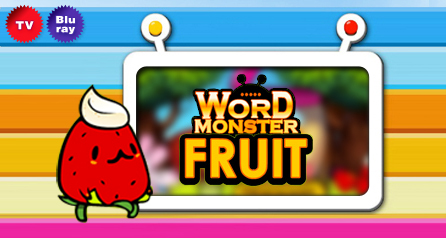 Wordmonster Fruit set