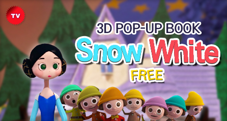 3D POP-UP BOOK  'Snow White_free'
